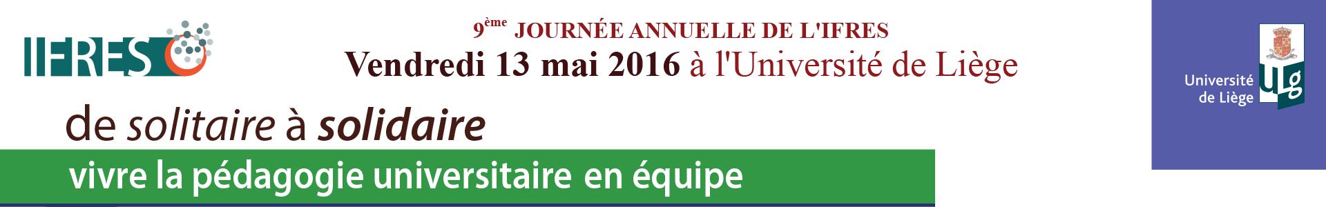 9ème Journée annuelle de l'IFRES
